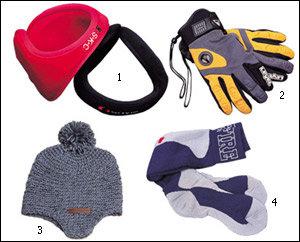 겨울 스포츠 필수품, 보온&안전용품