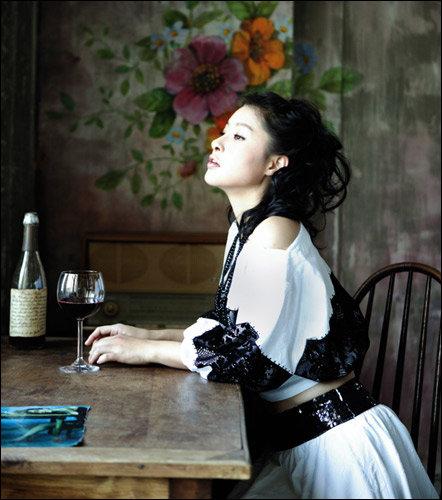 아름다운 그녀, 탤런트 박지영의 패션 제안 Romantic Bohemian look