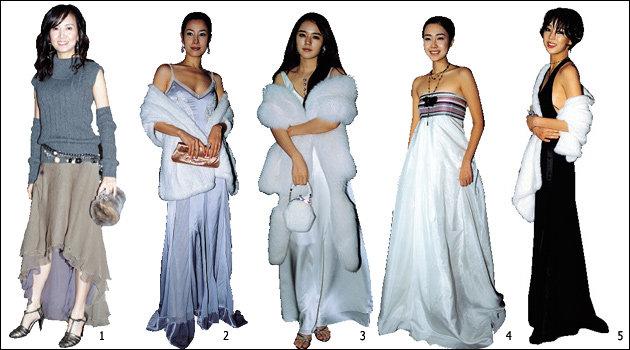 브라운관을 빛낸 배우들의 시상식 패션