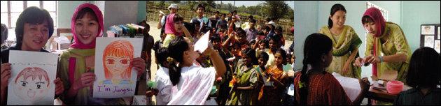결혼 10주년 맞아 방글라데시로 자원봉사활동 다녀온 변정수·류용운 부부