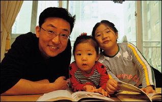 세 딸 아빠, 인기 영어 강사 김재민씨가 일러주는 '영어 듣기 실력 확실하게 키우는 비결'