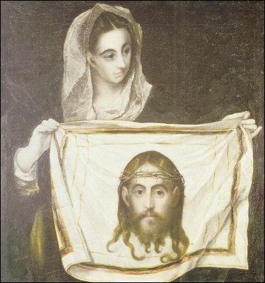 '신비주의의 대가' 엘 그레코의 '성 베로니카'