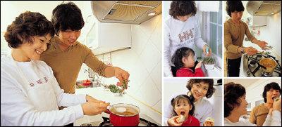 방송인 배칠수 가족의 새싹채소 활용법