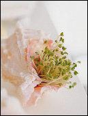 새싹채소 이용한 데코 아이디어