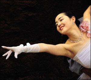 댄서로 변신한 영화 '댄서의 순정' 헤로인 문근영
