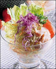 식이섬유가 듬뿍! 가볍게 먹는 다이어트 샐러드