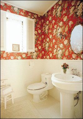 개성 만점 욕실 인테리어