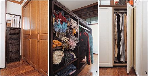 옷 수납이 쉬워지는 드레스룸 꾸미기
