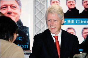 자서전 '마이 라이프' 홍보차 내한한 전 미국 대통령 빌 클린턴