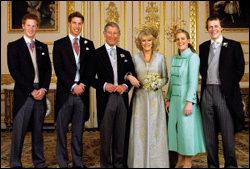 35년 만에 정식 부부 된 세기의 커플 찰스 영국 왕세자 & 카밀라 파커 볼스