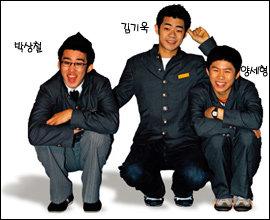 SBS '웃찾사'에서 코믹한 '권법 연기'로 사랑받는 '화상고' 3인방 김기욱·박상철·양세형
