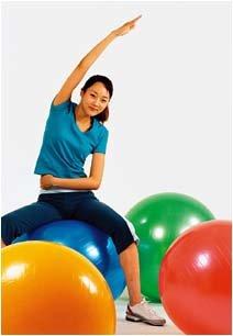 공놀이를 하다 보면 어느새 군살이 쏙쏙~ 재미있는 피트볼 다이어트