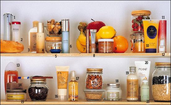 식재료부터 효모, 보석까지~ 이색 성분 화장품