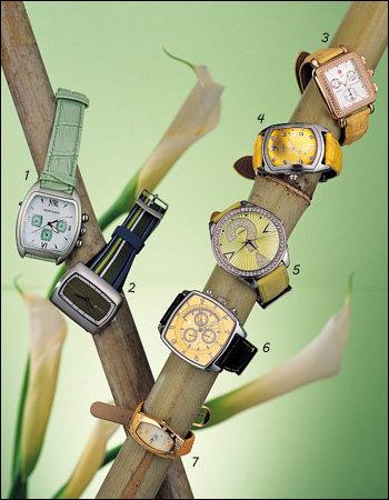 톡톡 튀는 상큼한  컬러 시계