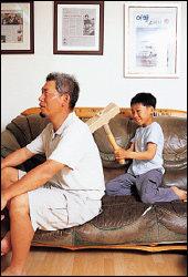 가족답사 모임 '아빠와 추억 만들기' 단장 권오진씨가 일러주는 '아이의 마음을 여는 1분 놀이'