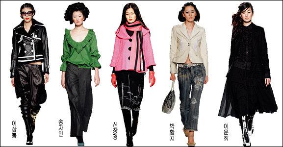서울 컬렉션 무대에 등장한  2005 가을·겨울 트렌드