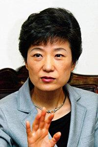 주부들이 뽑은 '차기 대통령감'  박근혜 한나라당 대표
