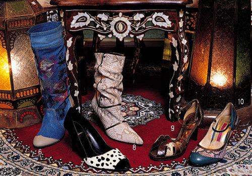 2005 가을  쇼핑  아이템 유행 스타일 가방 & 구두