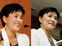 일반인 대상 문학강좌에 참석한 강금실 전 장관