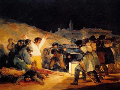 폭력과 압제로 억누를 수 없는 인간의 존엄성 '1808년 5월3일'