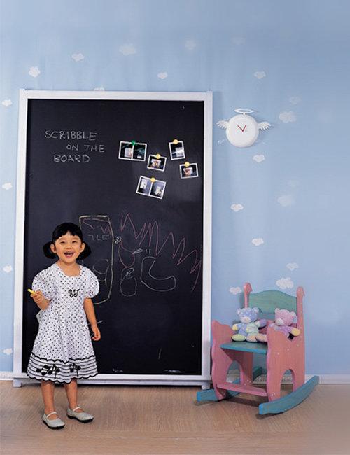 아이 상상력 높여주는 칠판 낙서장