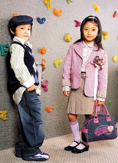 중저가 브랜드에서 고른 아이옷