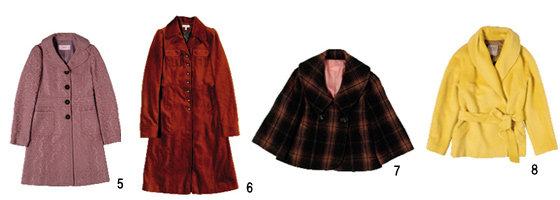 유행 예감!  3가지 스타일 코트 2005 Winter Coat
