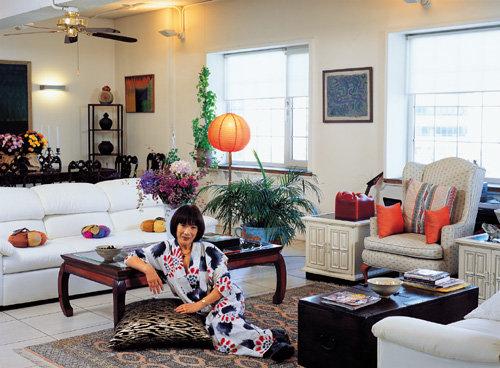 패션 디자이너 트로아 조의 삼성동 집