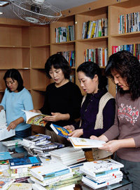 장은정 주부의 아파트 마을도서관 봉사