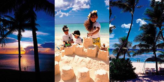 에메랄드빛 바다 넘실대는 가족 휴양지 괌