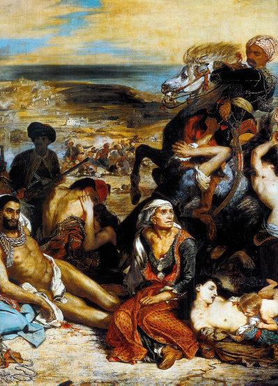 역사의 아픔을 생생히 전하는 '키오스 섬의 학살'