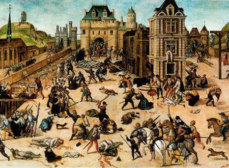 16세기 프랑스의 참극 그린 '성 바르톨로메오의 대학살'
