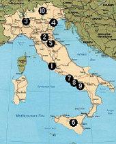 피자와 파스타, 명품 패션의 본고장 이탈리아