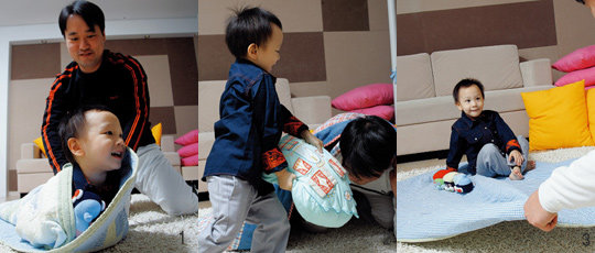 동현이와 아빠의 신나는 놀이 세상