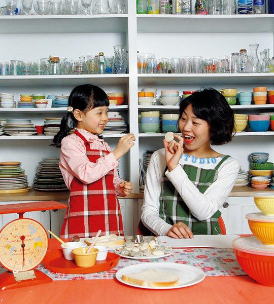 엄마와 아이가 함께하는 요리 놀이