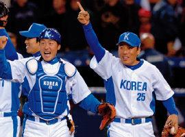 연이은 홈런포로 한국 야구의 진수 보여준 이승엽