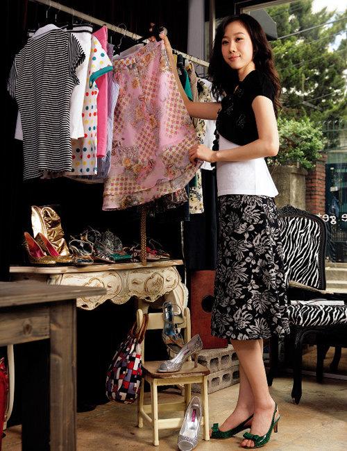 눈속임 패션 코디 법칙