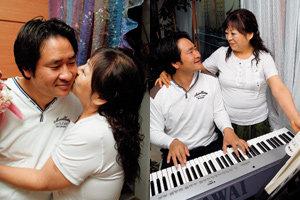아내는 52세 남편은 36세, 16년 나이차 극복한 부부 김경선·이정수
