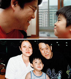 KBS '그랑프리쇼 여러분-불량아빠클럽'에서 개구쟁이 모습으로 인기 모으는 김구라·동현 부자