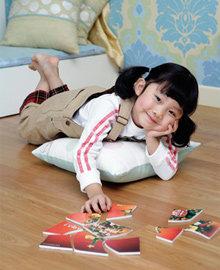 헌 잡지 이용한 색색~ 장난감