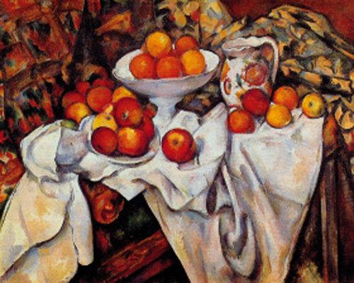 '사과 한 알로 파리를 정복한' 폴 세잔의 '사과와 오렌지'