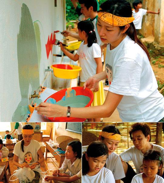 9년 만에 둘째 임신, 가족과 함께 베트남 봉사활동 다녀온 변정수