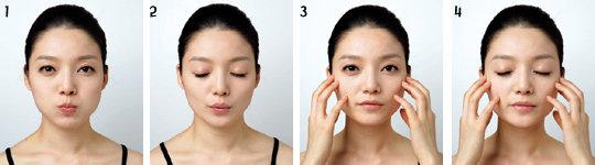 얼굴을 조그맣게, 주름 싹~ 없애는 하루 5분 페이스 요가