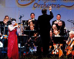 빈 필하모닉과 함께 내한공연 갖는 바이올리니스트 장영주