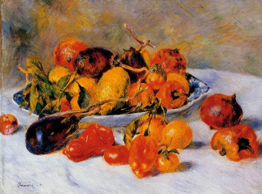 탐스러운 과일과 그 과일을 기른 햇살을 담은 '남프랑스의 과일'