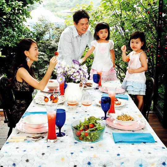 박찬민 아나운서 가족의 Happy Garden Party