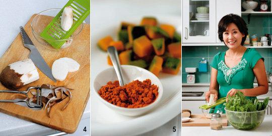 탤런트 홍여진의 암을 물리치는 식습관 & 건강밥상