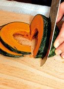 가을보약, 단호박 요리