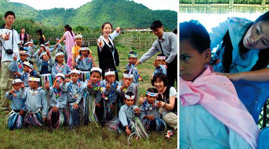 네팔로 자원봉사활동 다녀온 정선경