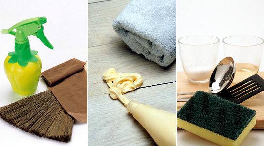 깔끔하고 깨끗한 집안 만드는~초간편 청소 아이디어